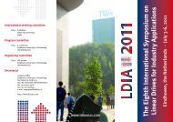 The Eighth International Symposium on Linear Drives for Industry ...