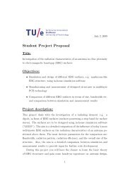 Student Project Proposal