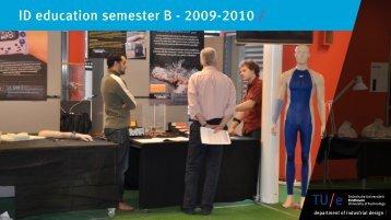ID education semester B - 2009-2010 / - Technische Universiteit ...
