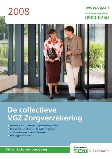 De collectieve VGZ Zorgverzekering