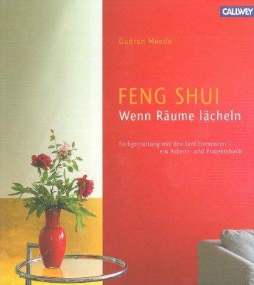 Gudrun Mende: Feng shui, wenn räume lächeln, Callwey