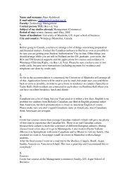 Name and surname: Hans Kalishoek E-mail address: j.kalishoek ...