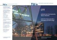 Centrum voor Communicatie, Taal & Techniek - Technische ...