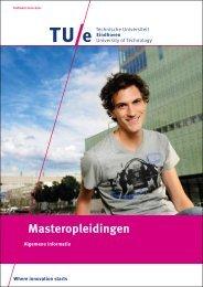 Masteropleidingen - Technische Universiteit Eindhoven