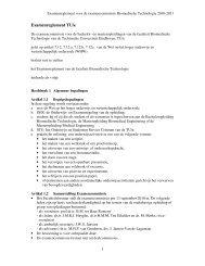 Examenreglement TU/e - Technische Universiteit Eindhoven