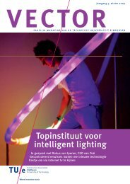 Topinstituut voor intelligent lighting - Technische Universiteit ...