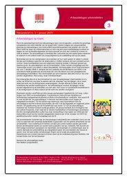 Nieuwsbrief nr. 3, jan 2009 - Technische Universiteit Eindhoven