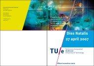 Dies Natalis 27 april 2007 - Technische Universiteit Eindhoven