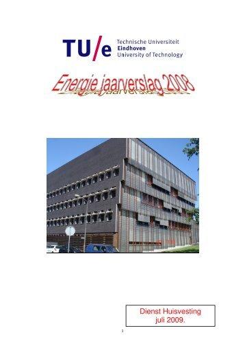 Dienst Huisvesting juli 2009. - Technische Universiteit Eindhoven