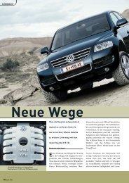 Neue Wege - Volkswagen