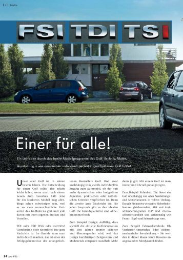 Einer für alle! - Volkswagen Österreich