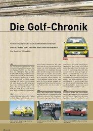Die Golf-Chronik - Volkswagen Österreich