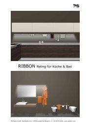 RIBBON Reling für Küche & Bad