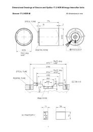 Dimensional Drawings of Sirecon and Optilux 17-2 HDR ... - Siemens