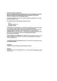 Auskunft aus dem Gewerberegister - Gemeinde Wadgassen