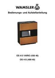 Bedienungsanleitung_OS - Wamsler GmbH