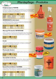 Pferdepflege - Produkte - Warenhandel.at