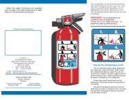 Fire Extinguisher Safety Tips - Warren County