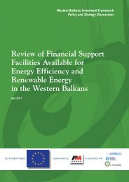 Review Of Financial Support Facilities Available For Energy