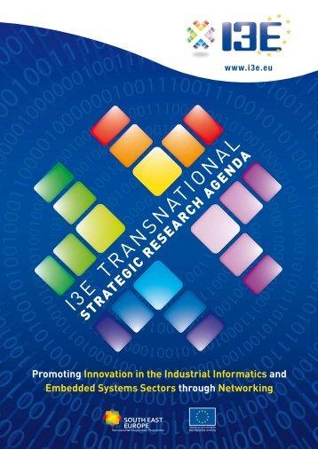 I3E Strategic Research Agenda