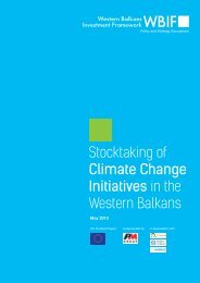 Stocktaking of Climate Change Initiatives in the Western ... - WBC-Inco