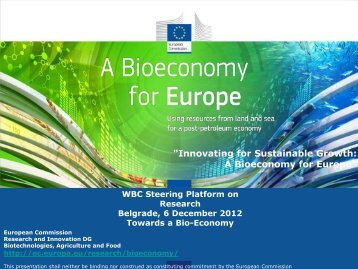 """Innovating for Sustainable Growth: A Bioeconomy ... - WBC-INCO Net"