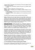 Transport sector research environment in ... - WBC-INCO Net - Page 5