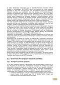 Transport sector research environment in ... - WBC-INCO Net - Page 6