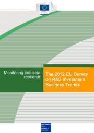 2012 EU Survey on R&D Investment Business Trends - The Engineer
