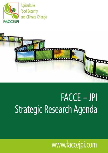 JPI Strategic Research Agenda - European Bureau for Conservation ...