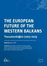The European future of the Western Balkans: Thessaloniki@10