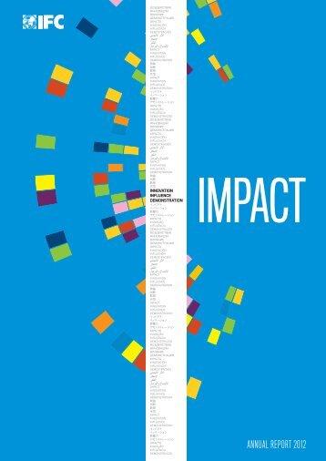 ANNUAL REPORT 2012 - IFC