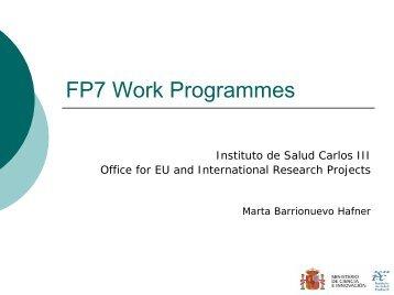 FP7 WP Health - WBC-INCO Net