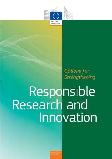 Options for Strengthening Responsible Research and Innovation