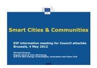 Smart Cities & Communities - WBC-INCO Net