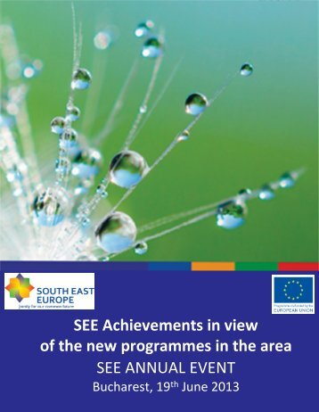 Draft Agenda - SEE Annual Event 2013.pdf - South-East Europe
