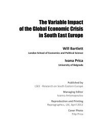 The Variable Impact of the Global Economic Crisis in South East ...