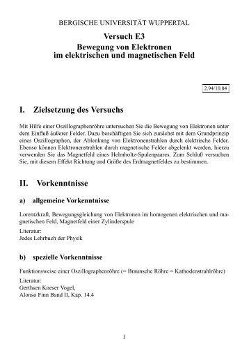 Kapitel 1: Magnetische und elektrische Felder - Mamtmann.de