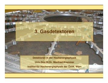 3. Gasdetektoren