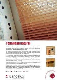 Cortinas Venecianas. Madera de Cedro.pdf - Bandalux