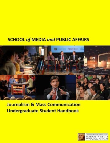 Handbook - Columbian College of Arts and Sciences - The George ...