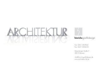 Portfolio - hinrichs:grafikdesign