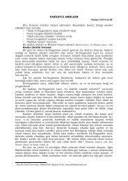Faziletli Ameller - Fırat Üniversitesi