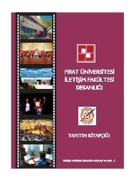 İletişim Fakültesi Tanıtım Kitapçığı - Fırat Üniversitesi