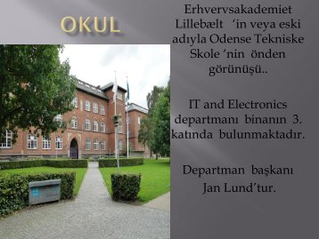 Erhvervsakademiet Lillebælt 'in veya eski adıyla Odense Tekniske ...