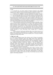 Tez Yazım Kılavuzu - Fırat Üniversitesi