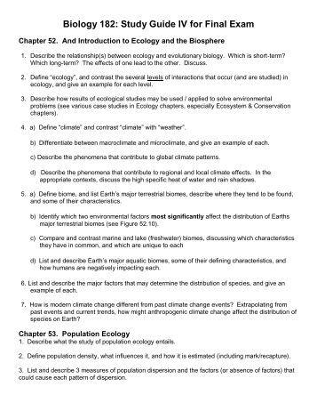The Best AP Biology Study Guide - PrepScholar
