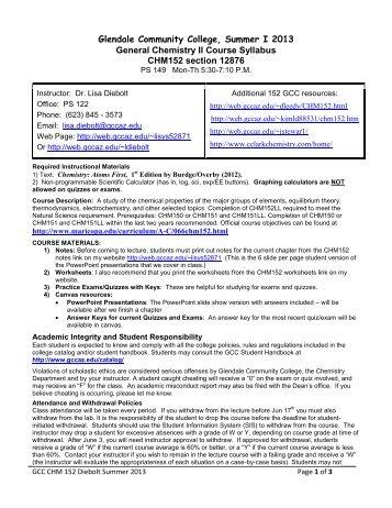 chemistry 152 syllabus spring 2013 leedy page 1 of 5 gcc links rh yumpu com CSE Citation Lab Manual Organic Chemistry Lab Manual