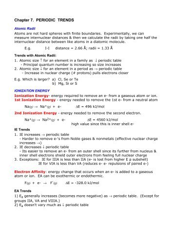 Periodic Trends Worksheet Pogil Answer Key Sewdarncute