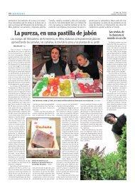 Los jabones de Armenteira en la prensa